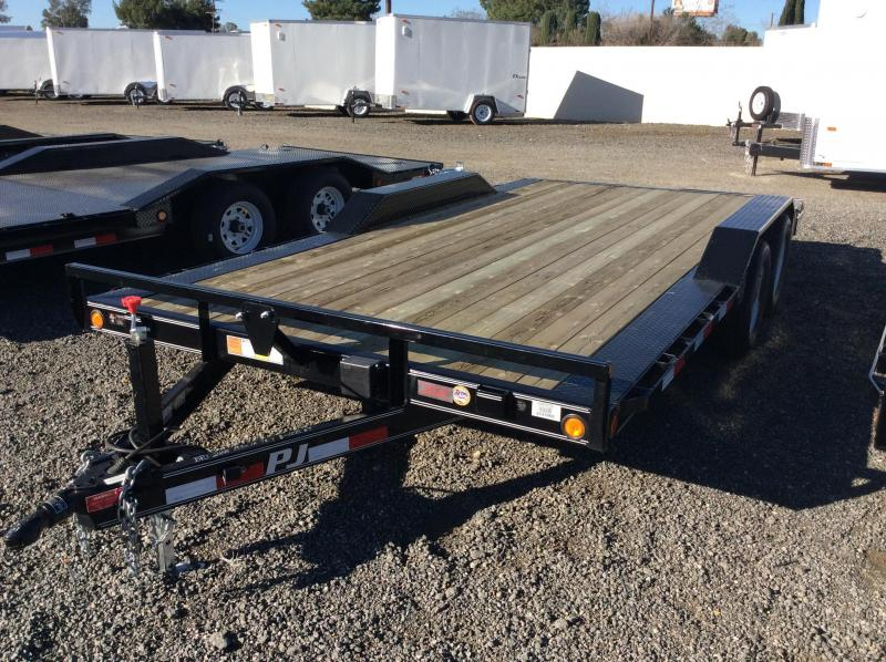 "2017 PJ Trailers 20' x 5"" Channel Buggy Hauler Trailer"