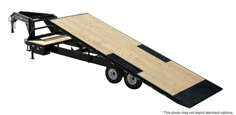2017 PJ Trailers 24' HD Deckover Tilt Trailer