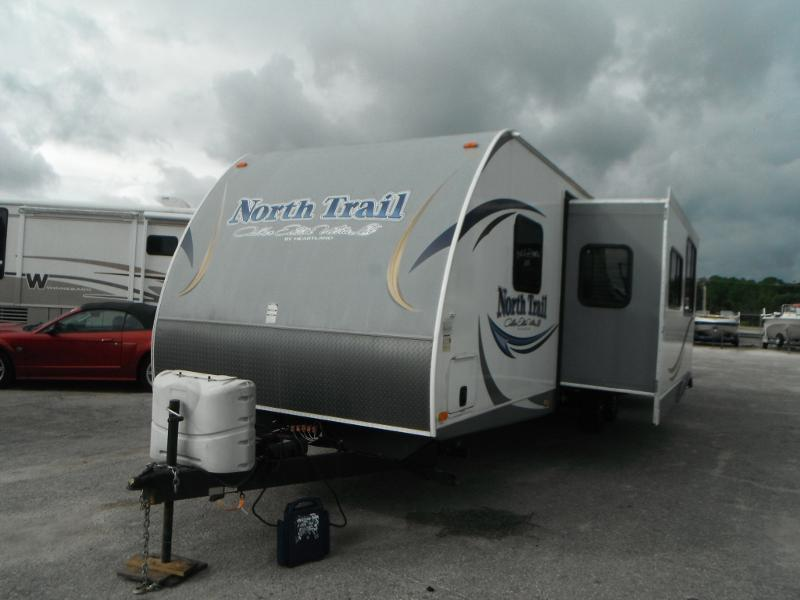 2013 Heartland North Trail 32BUDS BUNKHOUSE Travel Trailer
