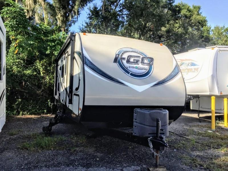 2015 EverGreen I-GO G291DBS Travel Trailer