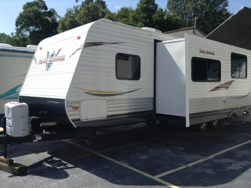 2014 Heartland Recreational Vehicles Trail Runner 30USBH Travel Trailer BUNKHOUSE