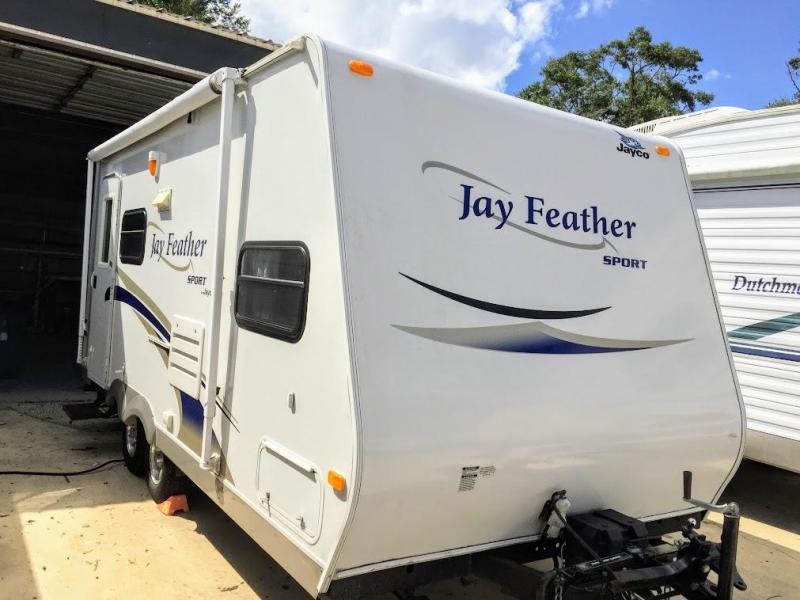 2010 Jayco Jay Feather Sport 199 BUNKHOUSE Travel Trailer