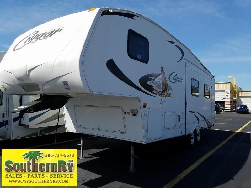 2010 Keystone Cougar X-lite 26RLS 5th Wheel Travel Trailer
