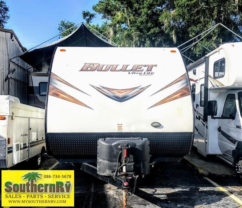 2015 Keystone RV Bullet Ultra Lite 207 RBS Travel Trailer RV