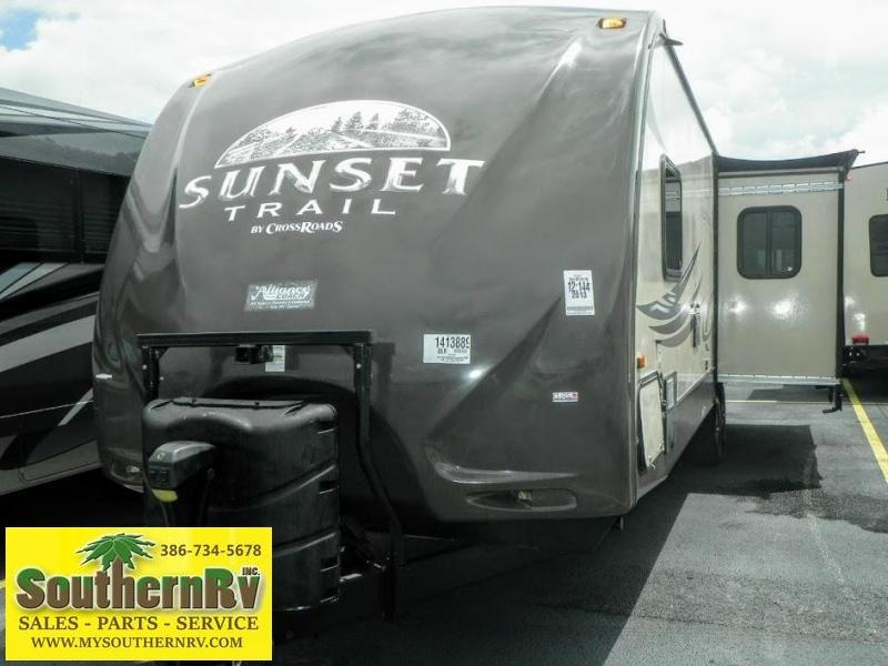 2013 Crossroads Sunset Trail Reserve 30 RK Travel Trailer
