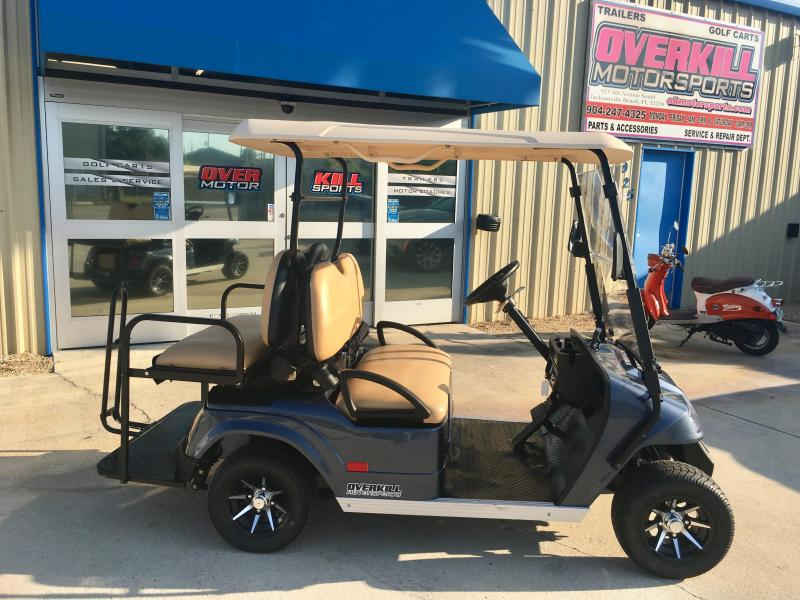 2018 StarEV 48V 2HCX Lifted Sport Electric Utility Golf Cart w/ Dump on