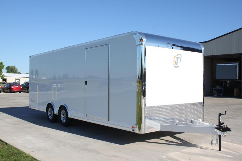 2018 inTech Trailers BTL8524TA3 Car / Racing Trailer Lite Series Base