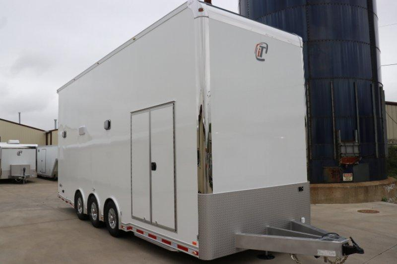 2019 INTECH 26' ALL ALUMINUM STACKER RACE TRAILER