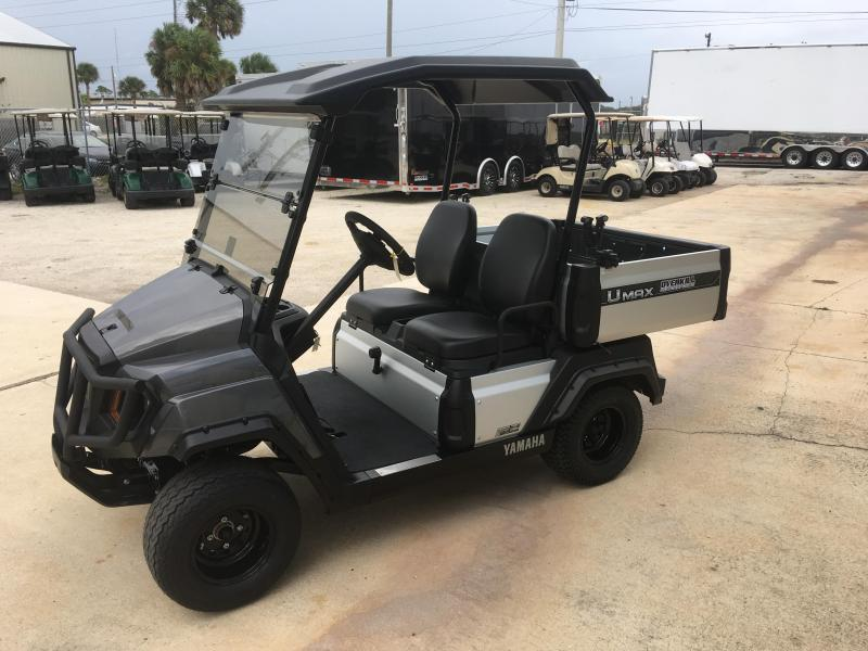 2019 Yamaha UMax One Gas Golf Cart 2 Passenger with Dump Bed - Silver