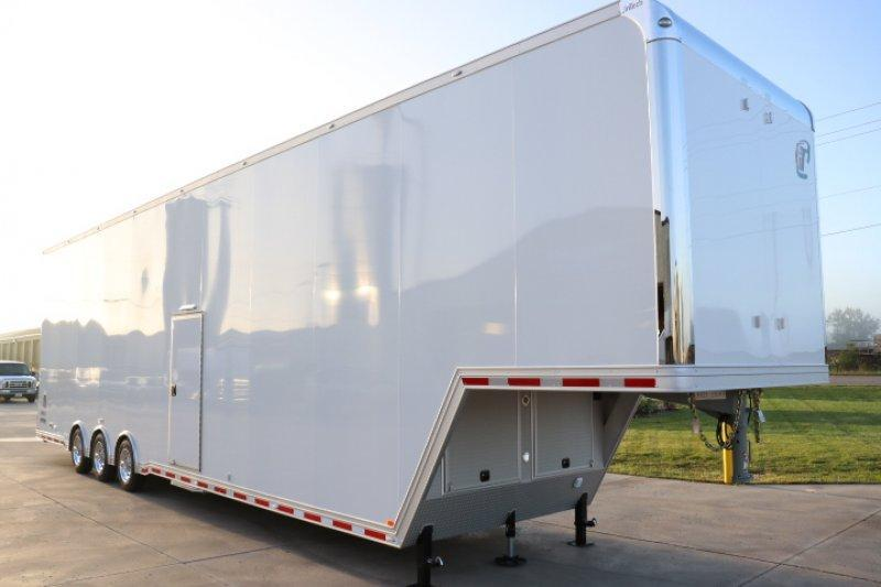 2019 inTech 44' iCon All Aluminum Gooseneck Sprint Car Trailer