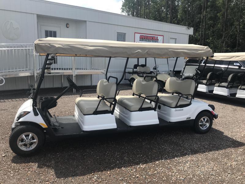 2016 Yamaha Drive 6 Passenger Electric A/C Golf Cart