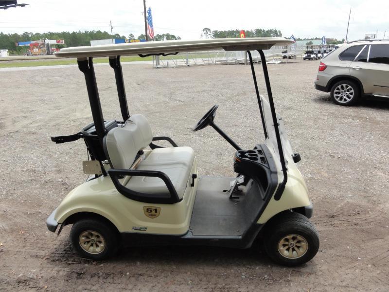2015 Yamaha EFI Gas Golf Cart - 2 Pass