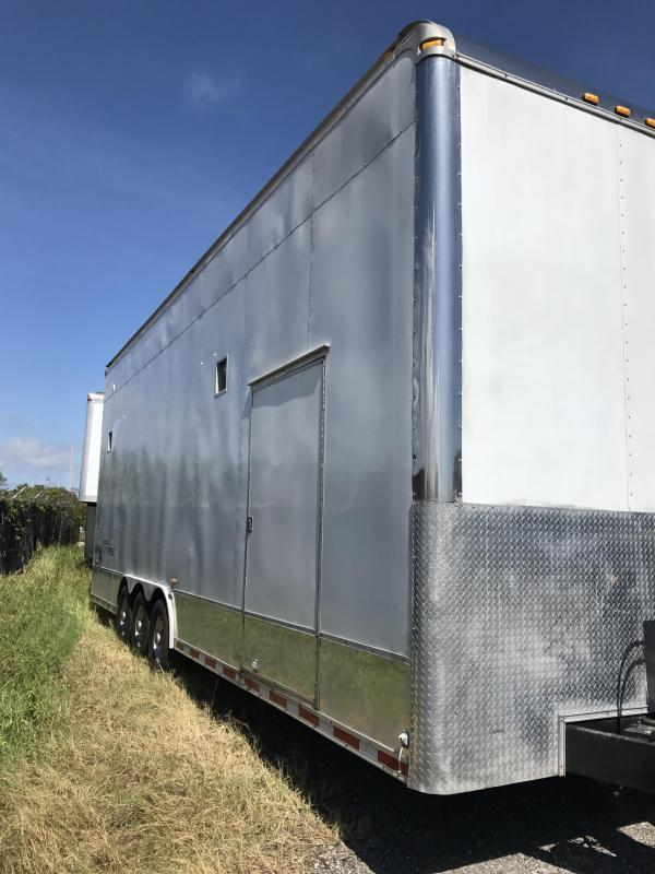 2004 Haulmark Edge 30' Stacker Race Trailer