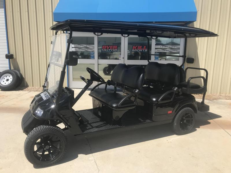 StarEV Classic 48V Electric Golf Cart Street Legal 6 Pass - Black