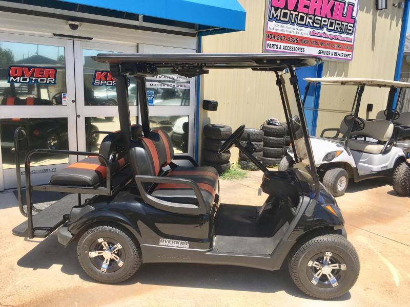 2013 Yamaha Drive Electric Golf Cart 4 Pass - Black