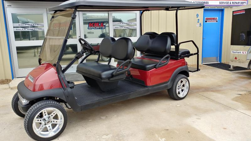 2014 Club Car Precedent Electric Golf Cart 6-Passenger Red