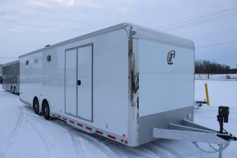 2019 inTech 28' All Aluminum Tag Trailer W/ Full Size Escape Door
