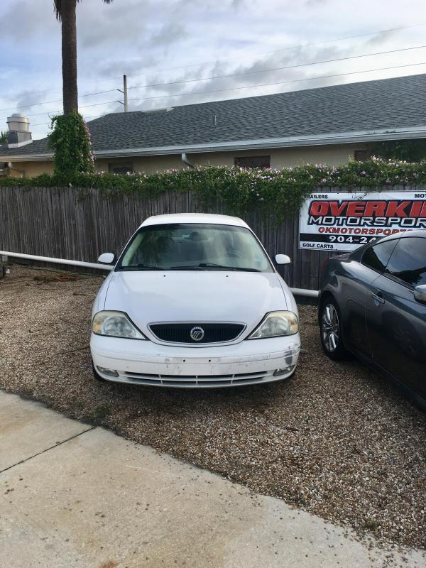 2003 Mercury Sable 4 Door Sedan - White