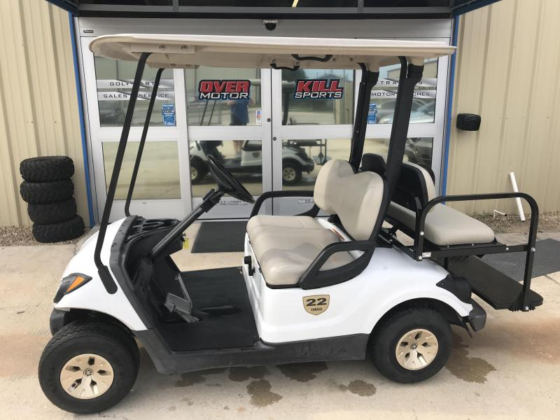 2014 Yamaha Drive Gas Golf Cart 4 Passenger W/ Street Legal Light Kit