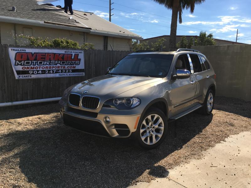 2011 BMW X5 Series 4D 35i AWD 3.0L I6 Turbo SUV Gold
