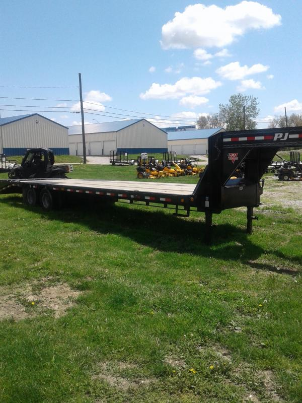 2019 PJ Trailers 32 Low Pro w/ Duals Flatbed Trailer