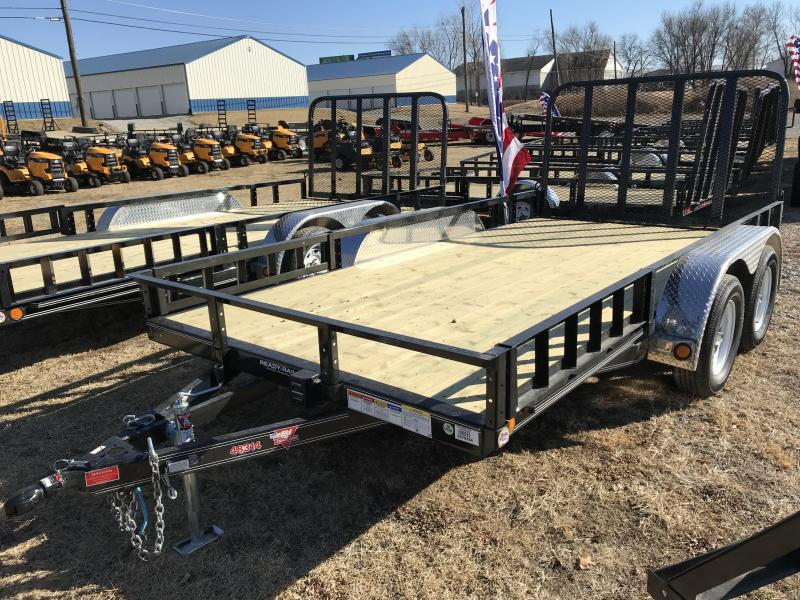 2018 PJ Trailers 83x14 Tandem Axle Channel Utility (UL)