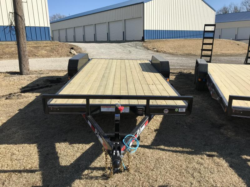 2018 PJ Trailers 83x18 5 in. Channel Equipment (CE)