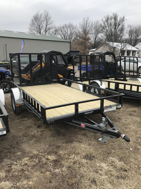 2019 PJ Trailers 10' Single Axle Utility (U7)