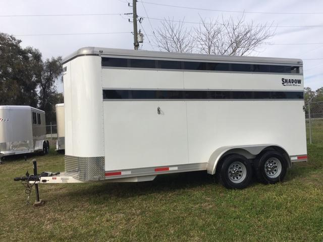 2018 Shadow Trailers 3H STK BP Horse Trailer
