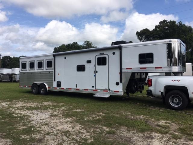 2019 Exiss 8412 Endeavor LQ w/ Glide Horse Trailer