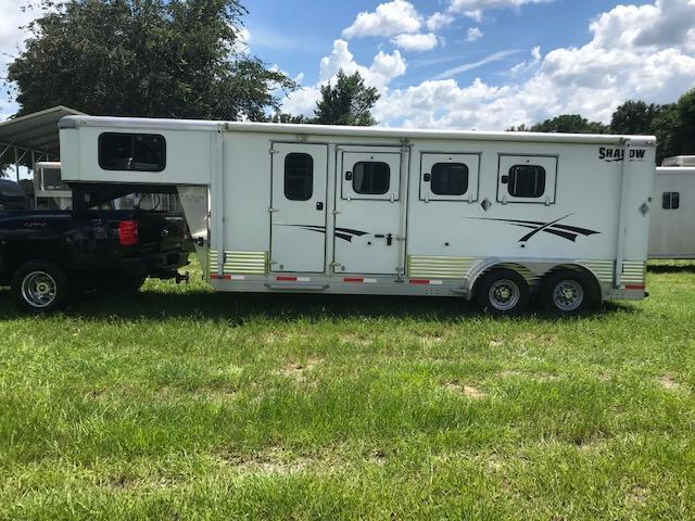 2015 Shadow 3SL-GN Plus Pack Horse Trailer