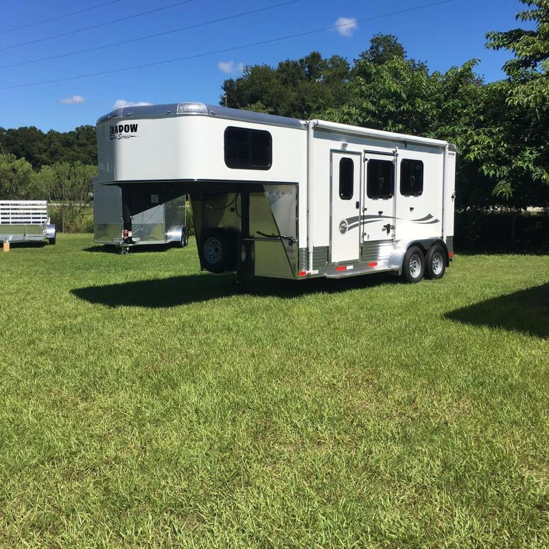 REDUCED!!!!  2017 Shadow 2SL-GN Plus Pack Horse Trailer