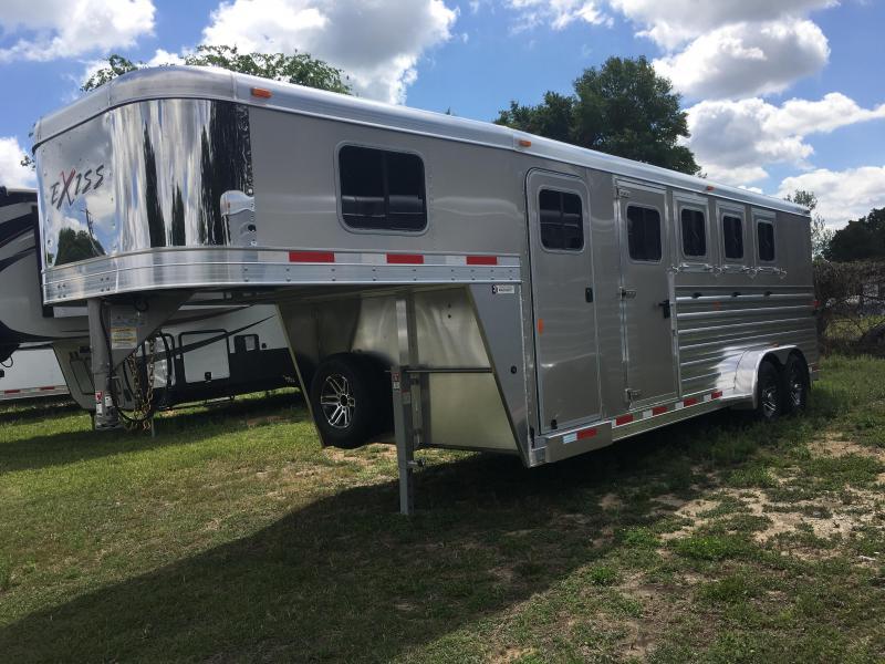 2018 Exiss 7400 GN Horse Trailer