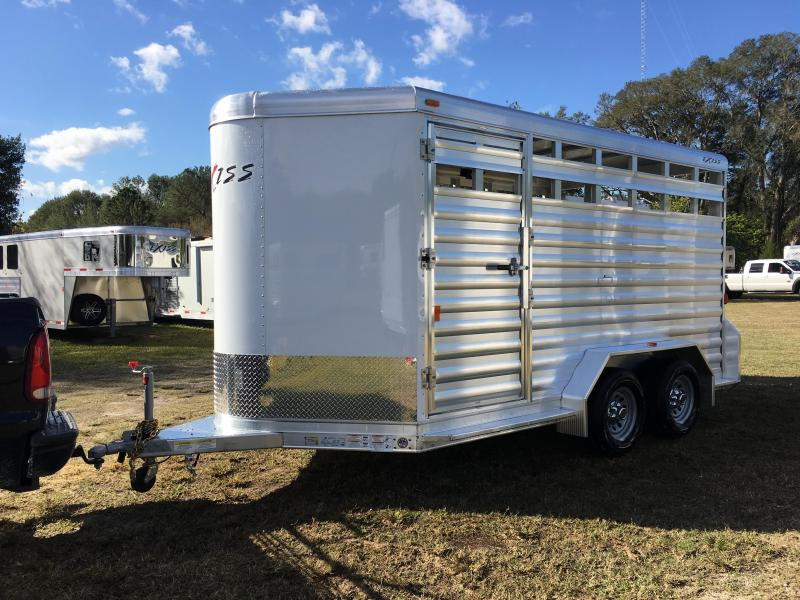 2019 Exiss Trailers 713 STK BP Horse Trailer