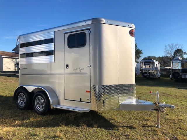 2019 Sundowner Trailers 2H Super Sport BP Horse Trailer