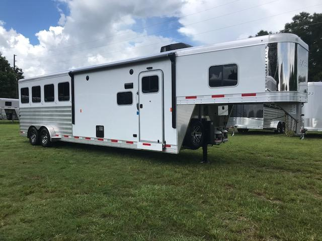2020 Exiss Escape 4H 10.5  LQ Horse Trailer