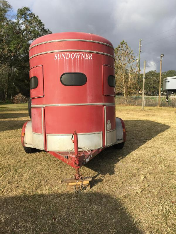 1993 Sundowner 2H BP Horse Trailer