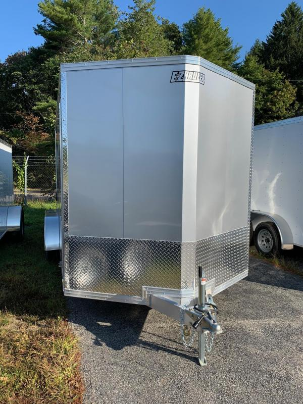 2019 EZ Hauler EZEC7X16 Enclosed Trailer w/ RAMP - SILVER