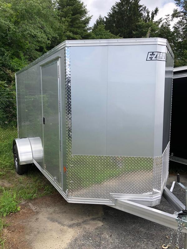 2018 EZ HAULER EZEC6X12 Enclosed Cargo Trailer w/ RAMP - SILVER
