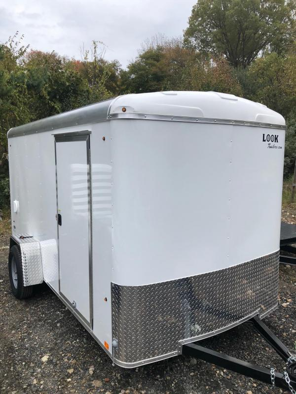 2018 Look Trailers Strlc Round Top Cargo Dlx Cargo / Enclosed Trailer