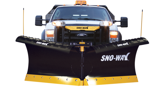 "2018 Sno-Way 29VHD 8'6"" Snow Plow w/ Down Pressure"