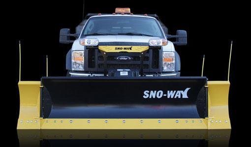 2018 Sno-Way Revolution HD 10' Snow Plow w/ Down Pressure