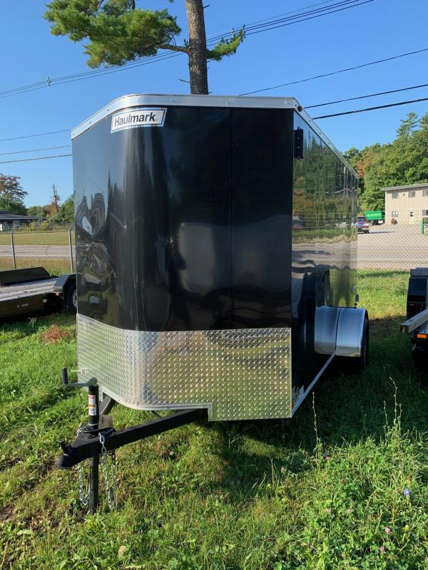 2019 Haulmark Transport 6x12 Enclosed Trailer w BARN DOORS - BLACK