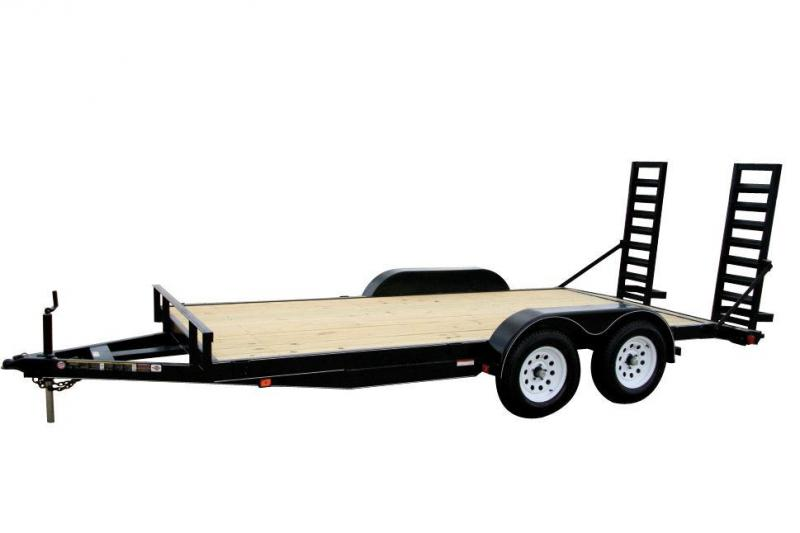 2019 Carry-On 7X18HDEQDTFR Equipment Trailer