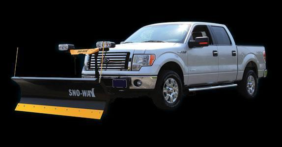 "2018 Sno-Way 26 7'6"" Snow Plow w/ Down Pressure"