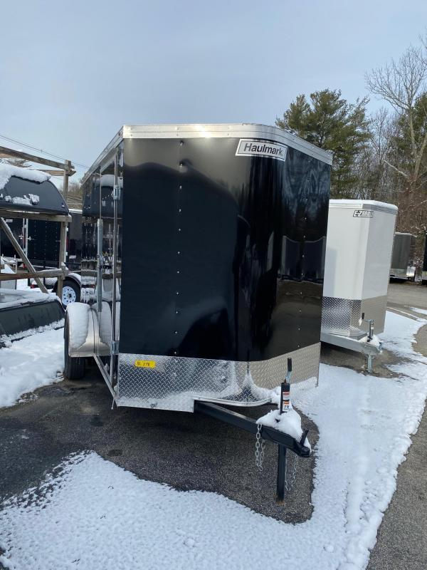 2020 Haulmark Passport 6X10 Enclosed Trailer w/ RAMP - BLACK