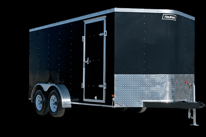 2019 Haulmark PP714 Enclosed Cargo Trailer - w/ RAMP - WHITE