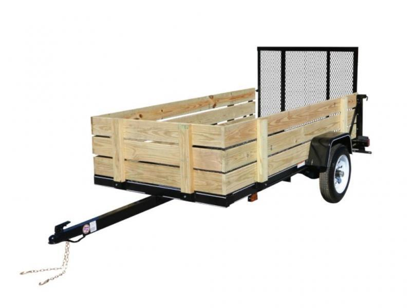 2019 Carry-On 4X8-WOODY Utility Trailer