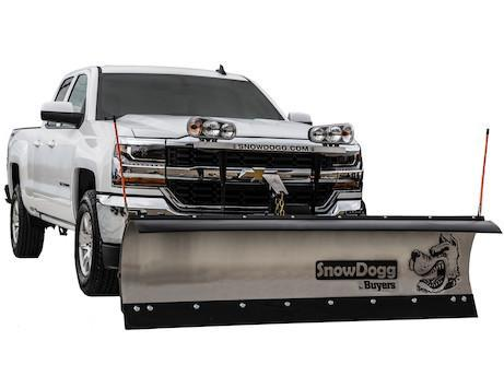 2018 SnowDogg MD75 Stainless Snow Plow