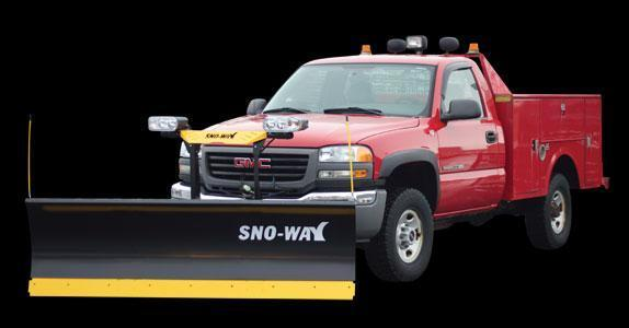 2018 Sno-Way 29THD 8' Snow Plow w/ Down Pressure
